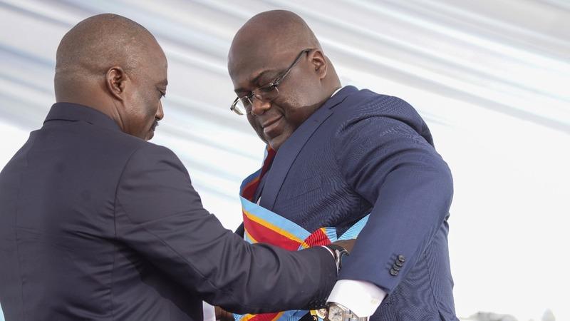 Congo's Tshisekedi sworn in as president