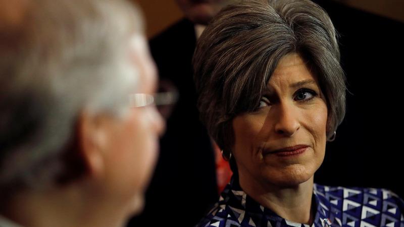Senator Ernst reveals she was raped in college