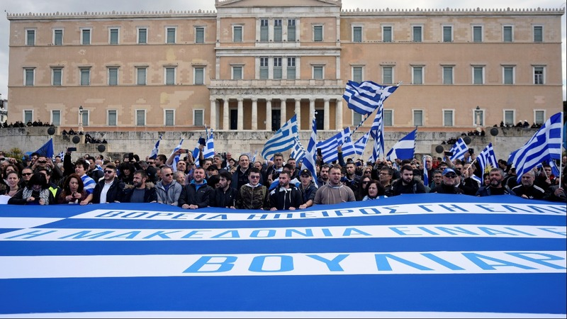 Greek parliament votes to change Macedonia's name