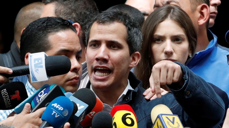 Venezuela's Guaido calls for more protests
