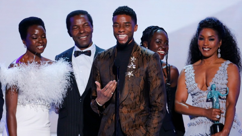 'Black Panther' reigns at the SAG awards