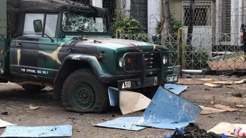 Militants blamed for Philippines church bombings