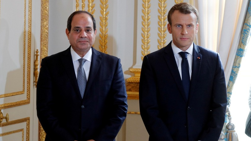 French arms sales to Egypt in the spotlight