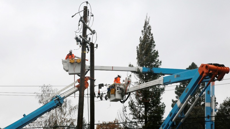 PG&E files for bankruptcy after damaging wildfires