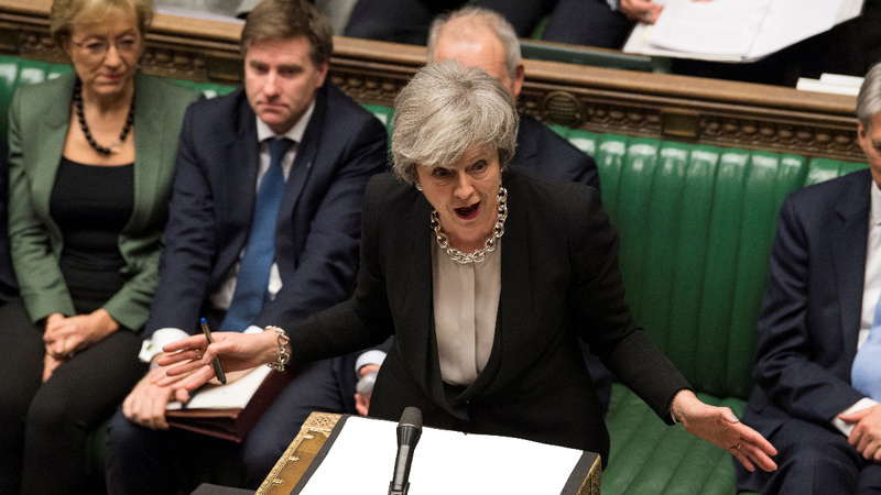Lawmakers back May's bid to rework Brexit deal