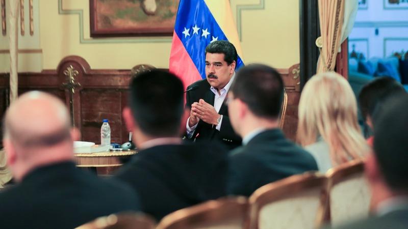 Maduro says Trump out to kill him; seeks Russia talks