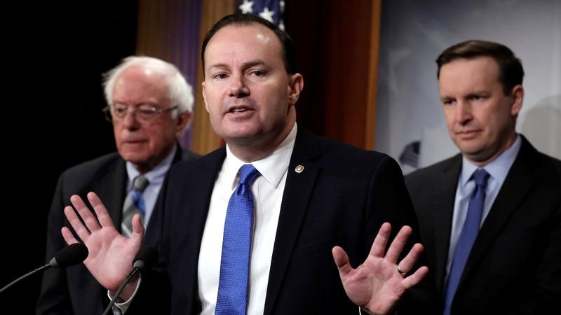 Lawmakers revive bid to end U.S. aid in Yemen war