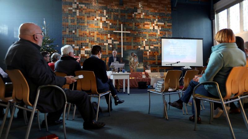 Dutch church prayer service wins migrants asylum
