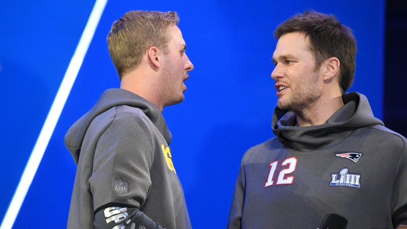 Upstart versus veteran in Super Bowl LIII
