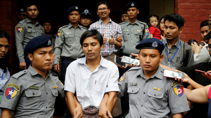 Jailed Reuters reporters appeal to Myanmar Supreme Court