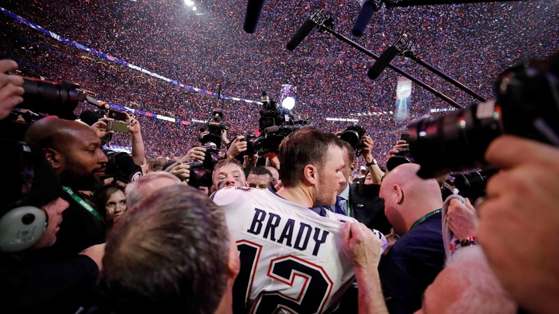 Patriots beat Rams for sixth Super Bowl title