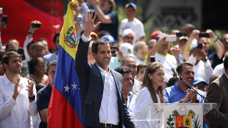 European nations recognize Guaido as Venezuelan president
