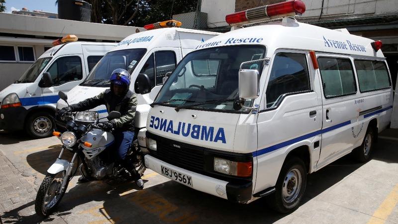 Kenya's ambulance 'Uber' at heart of siege rescue