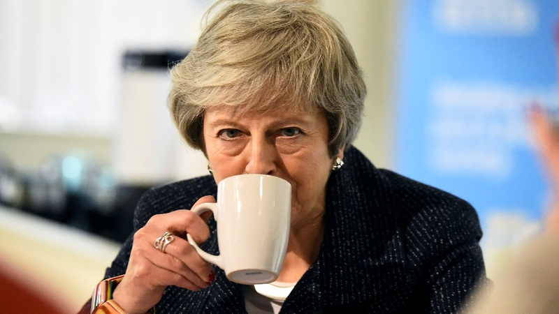 """May denies """"shafting"""" N. Ireland over Brexit"""