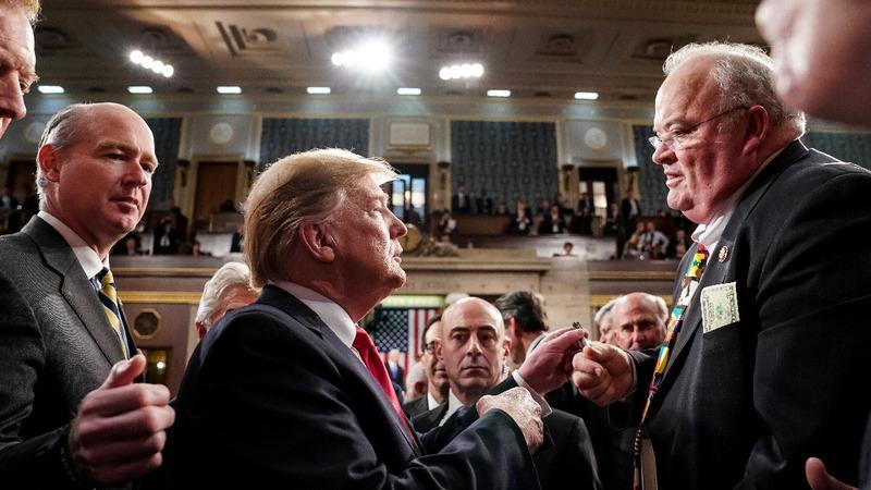SOTU: Trump plays to base despite bipartisan talk