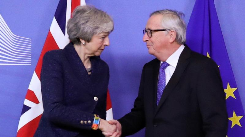 UK's May takes Brexit renegotiation to EU