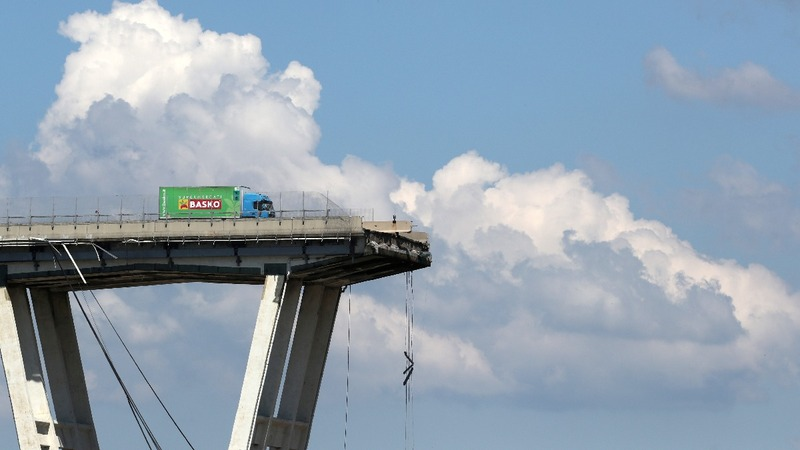 The Genoa bridge disaster: Six months later