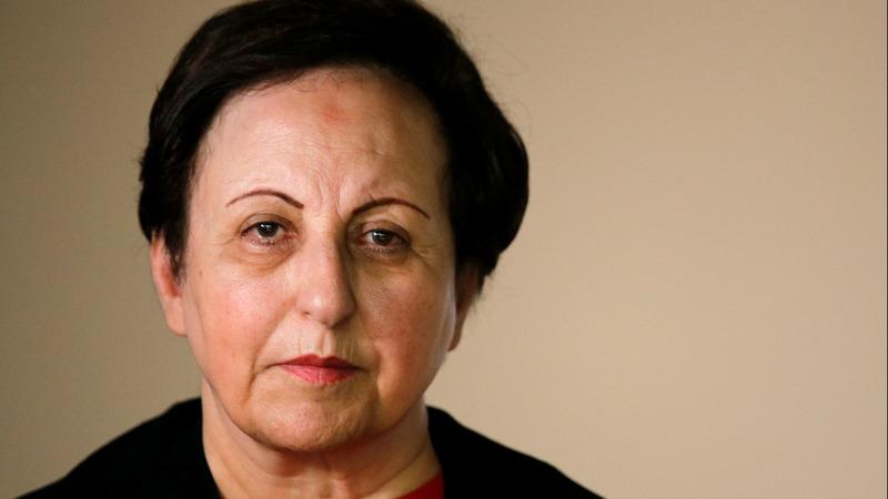 Ebadi urges tougher action against Iran