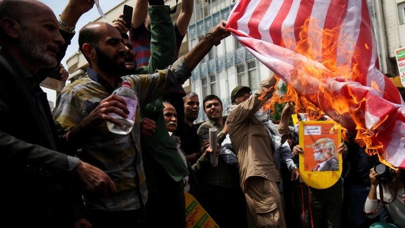 'Death to America' really 'Death to Trump': Iran