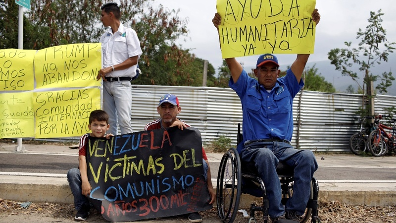 Maduro on aid: Venezuelans not 'beggars'