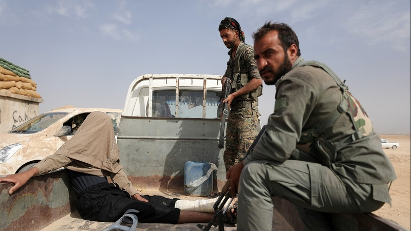 U.S.-backed Syrian forces in 'final battle' against IS