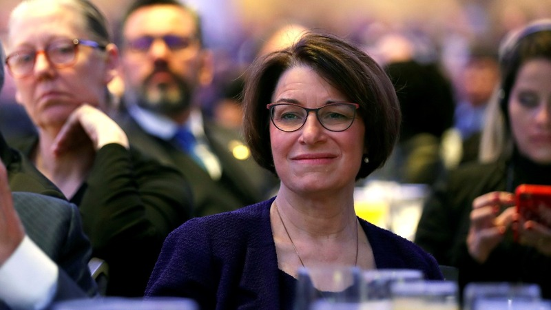 Midwesterner Klobuchar joins crowded 2020 race
