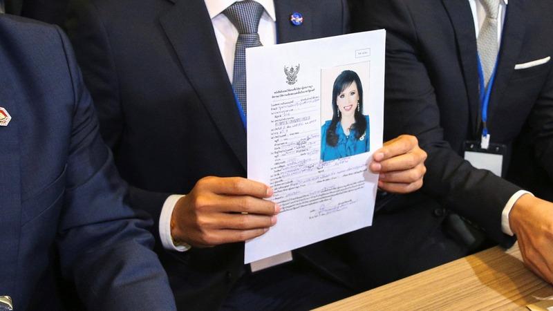 Thailand election panel disqualifies princess
