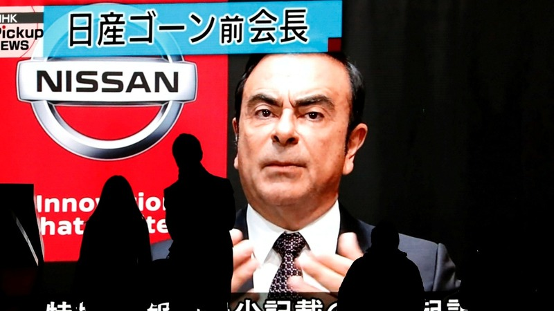 Nissan books $84 million in Ghosn charges