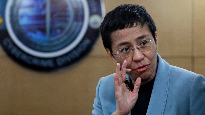 Philippine journalist Maria Ressa freed on bail