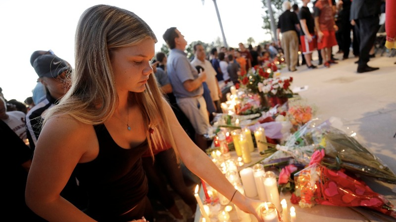 A year after Parkland, a moment of silence
