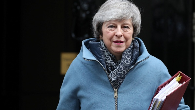 More Brexit embarrassment for May