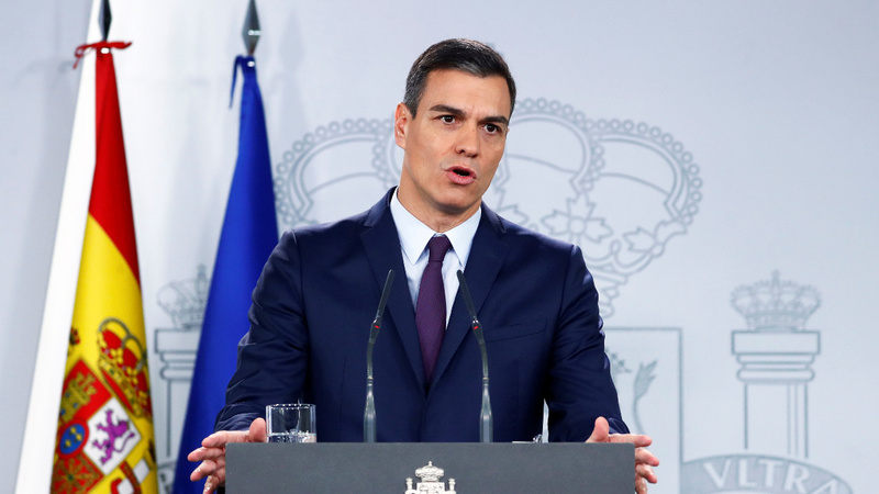 Spanish PM calls a snap national election