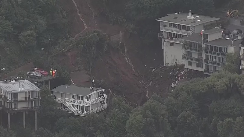Monster mudslides ravage California