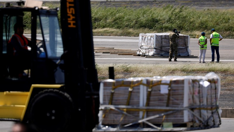 More Venezuela aid arrives in Colombia