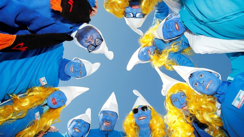 INSIGHT: Is this the world's largest Smurfs meet?