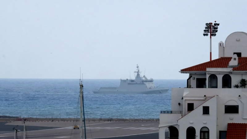 Spain warship stands-off with UK navy in Gibraltar