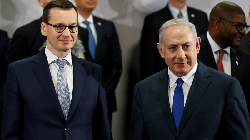 Poland pulls out of Israel summit in Holocaust row