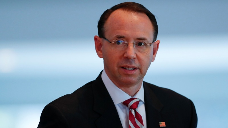 Deputy AG Rosenstein to step down in March