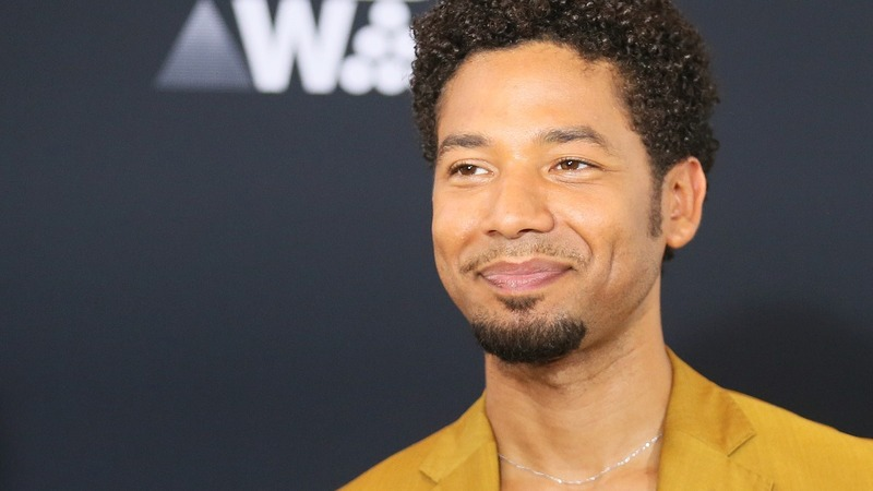 Smollett charged with faking racist attack