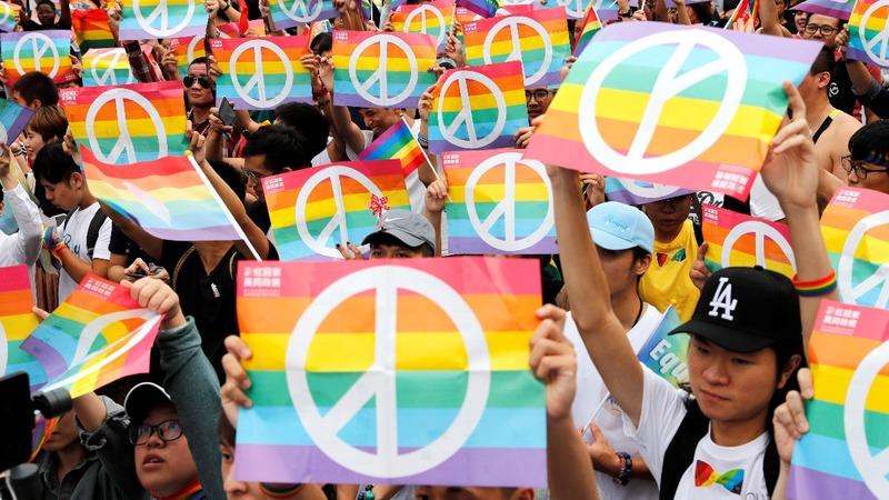 Taiwan unveils first same-sex marriage draft bill