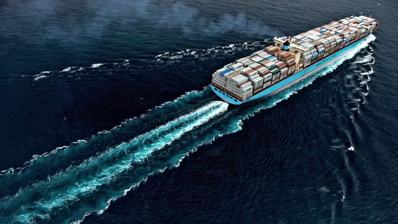 Shipping giant Maersk warns of trade slowdown