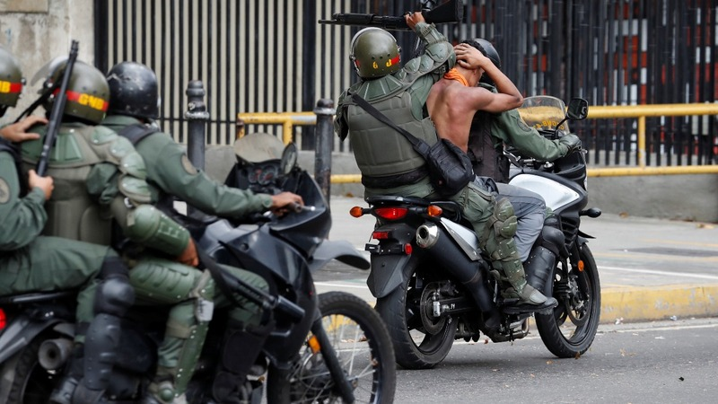 Scant evidence in a case targeting Venezuelan opposition