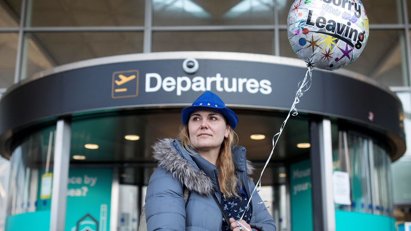 German family buys one-way ticket out of Brexit