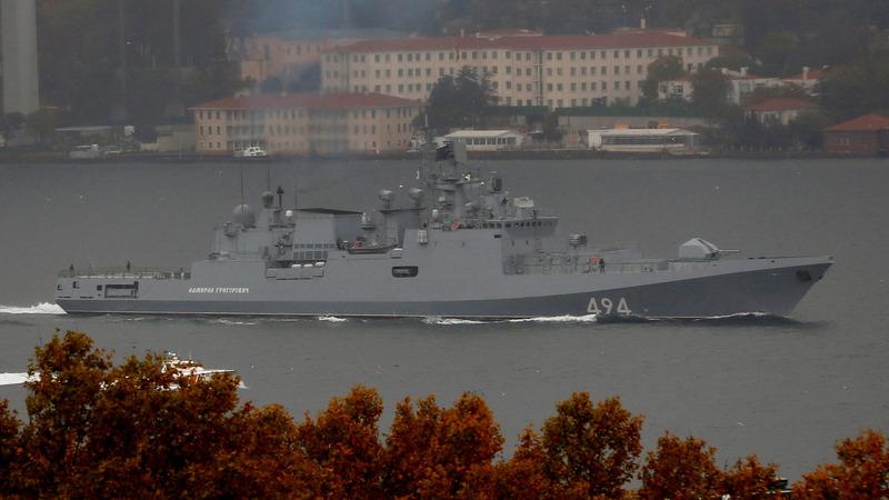 Despite Putin's bravado, Russian navy lags behind