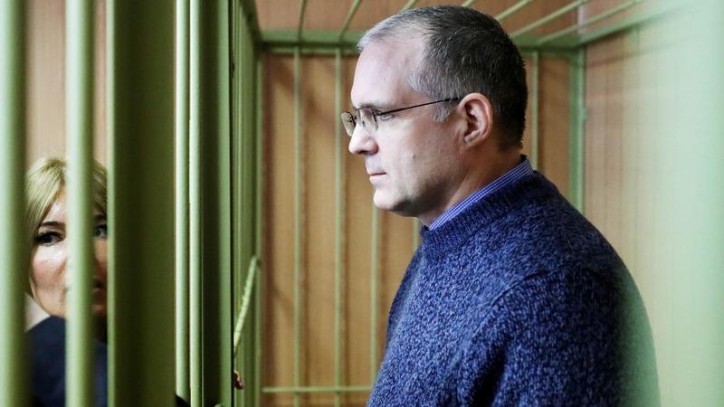 Russia extends detention of ex-U.S. marine