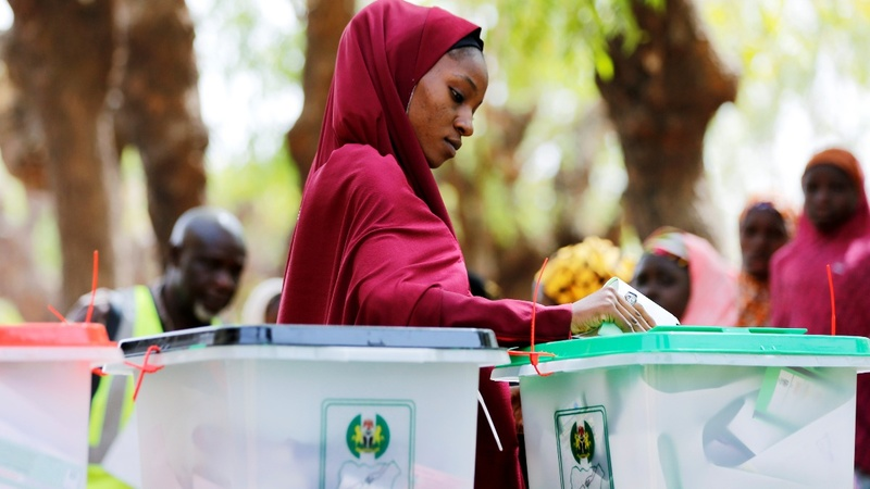 Delays and frustration mark Nigerian election