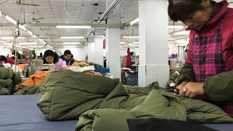 The viral 'Amazon Coat' is a Chinese success