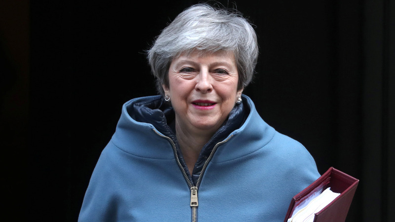 May gives lawmakers chance to delay Brexit