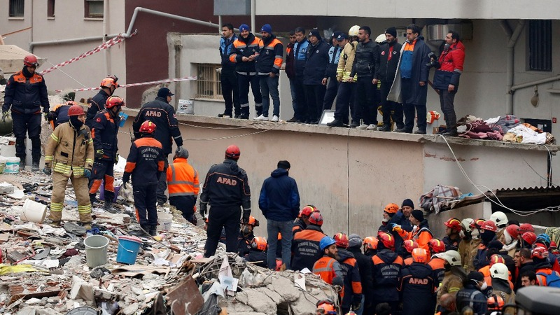 Building collapse highlights safety risks in Turkey