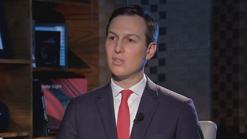 Kushner: U.S. peace plan addresses borders issue